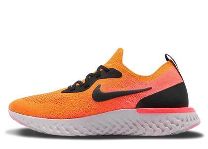 Nike Epic React Flyknit Copper Flash Womensの写真