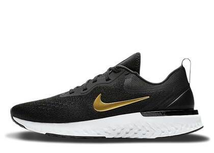 Nike Odyssey React Black Metallic Gold Womensの写真
