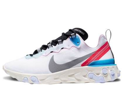 Nike React Element 55 Blue Hero Womensの写真