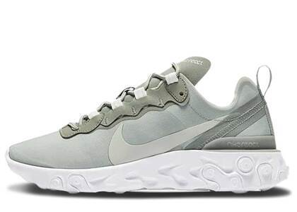 Nike React Element 55 Mica Green Womensの写真
