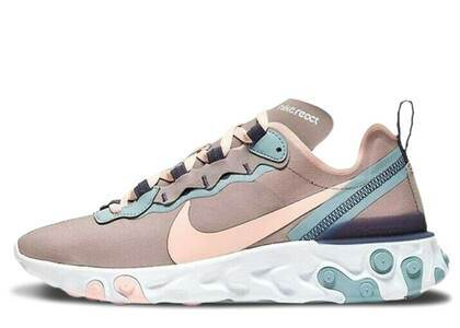 Nike React Element 55 Pumice Sanded Purple Womensの写真