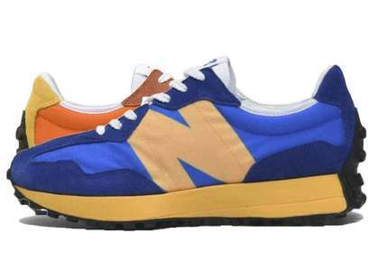 New Balance MS327 LAA Marine Blue Orangeの写真