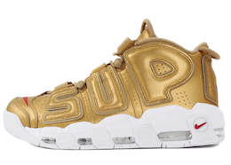"Air More Uptempo Supreme ""Suptempo"" Goldの写真"
