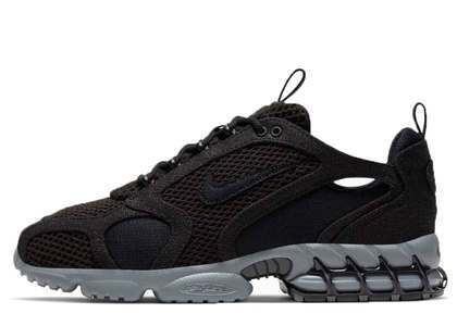 Stussy x Nike Air Zoom Spiridon Cage 2 Black Cool Greyの写真