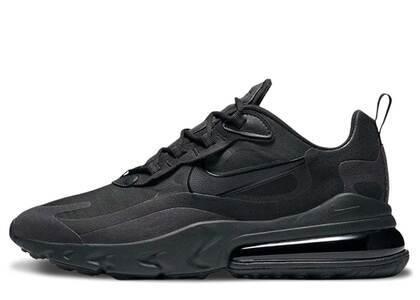 Nike Air Max 270 React Hip Hop Triple Blackの写真