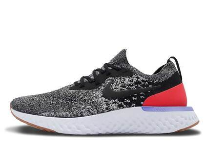 Nike Epic React Flyknit Black Red Orbitの写真