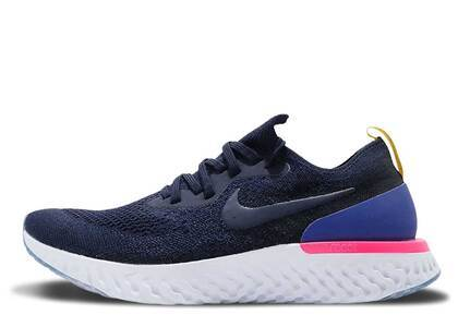 Nike Epic React Flyknit College Navyの写真