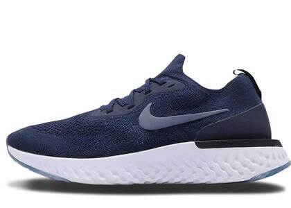 Nike Epic React Flyknit College Navy Diffused Blueの写真