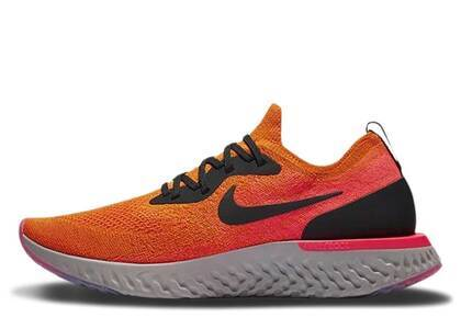 Nike Epic React Flyknit Copper Flashの写真