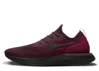 Nike Epic React Flyknit Deep Burgundyの写真
