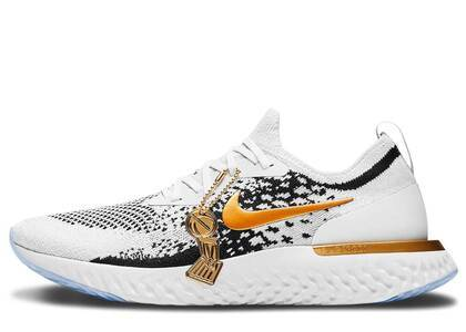 Nike Epic React Flyknit Golden State Warriors NBA Champs PE (2018)の写真