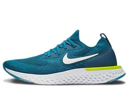 Nike Epic React Flyknit Green Abyssの写真