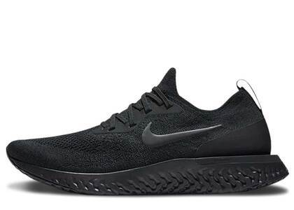 Nike Epic React Flyknit Triple Blackの写真