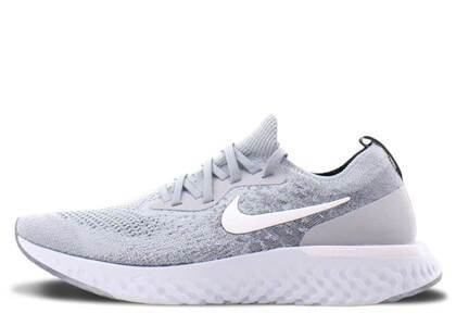 Nike Epic React Flyknit Wolf Greyの写真