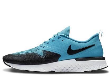 Nike Odyssey React 2 Flyknit Blue Lagoonの写真