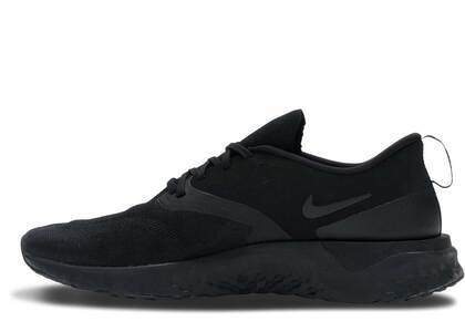 Nike Odyssey React 2 Flyknit Triple Blackの写真