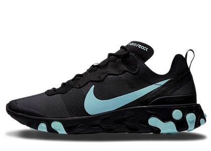 Nike React Element 55 Black Aurora Greenの写真
