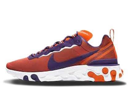 Nike React Element 55 Clemsonの写真