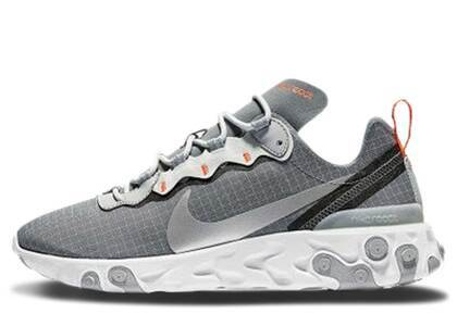 Nike React Element 55 Cool Grey Hyper Crimsonの写真