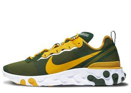 Nike React Element 55 Gold Rangerの写真