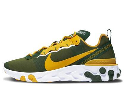 Nike React Element 55 Green Bay Packersの写真