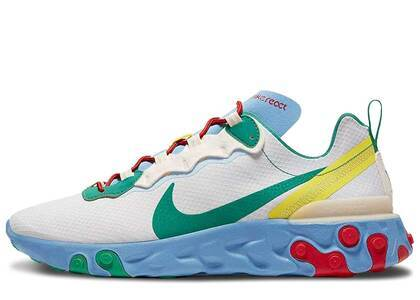 Nike React Element 55 Guava Ice Vast Grey Lucid Greenの写真