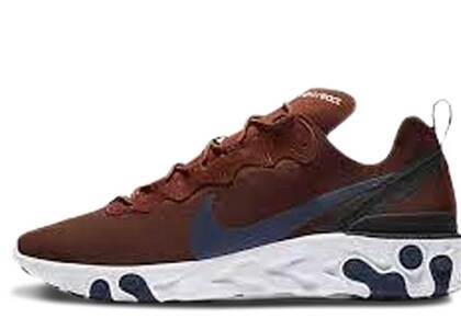 Nike React Element 55 Mars Stone Midnight Navyの写真