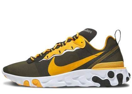 Nike React Element 55 Pittsburgh Steelersの写真