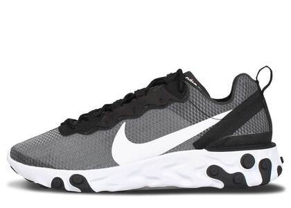 Nike React Element 55 SE Black Whiteの写真