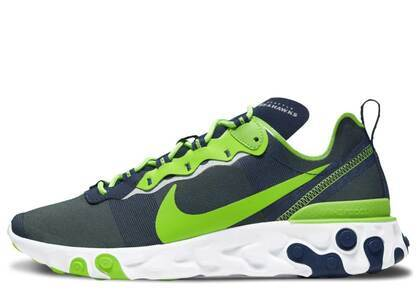 Nike React Element 55 Seattle Seahawksの写真