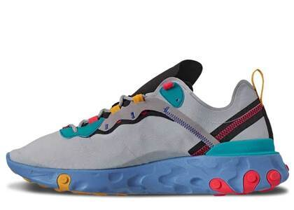 Nike React Element 55 Teal Nebulaの写真