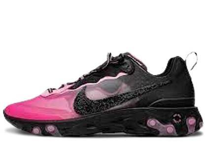 Nike React Element 87 Sneakerroom Breast Cancer Awareness Swarovskiの写真