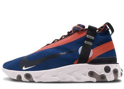 Nike React Runner Mid WR ISPA Blue Void Team Orangeの写真