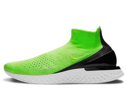 Nike Rise React Flyknit Lime Blastの写真