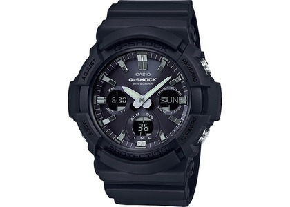 Casio G-Shock Analog-Digital GAS100B-1A - 55mm in Resin の写真