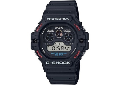 Casio G-Shock DW5900-1 - 46mm in Resin の写真