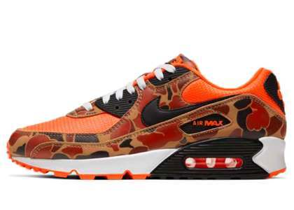 Nike Air Max 90 Orange Duck Camoの写真