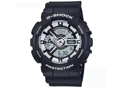 Casio G-Shock GA110BW-1A - 51mm in Resin の写真