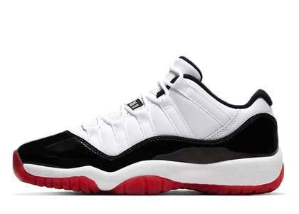 Nike Air Jordan 11 Low White Bred (GS)の写真