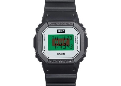 Casio G-Shock 15th Anniversary Limited Edition Collaboration DW5600HUF-1 - 49mm in Resin の写真