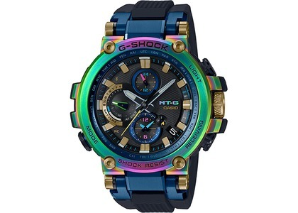Casio G-Shock 20th Anniversary MTG-B1000RB-2A - 52mm in Stainless Steelの写真