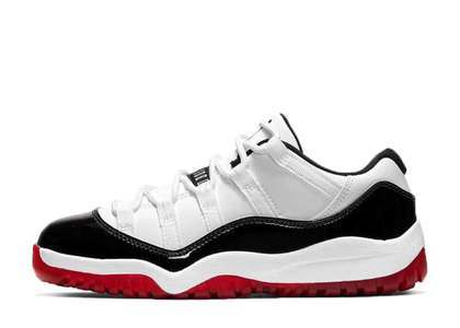 Nike Air Jordan 11 Low White Bred Little Kidsの写真