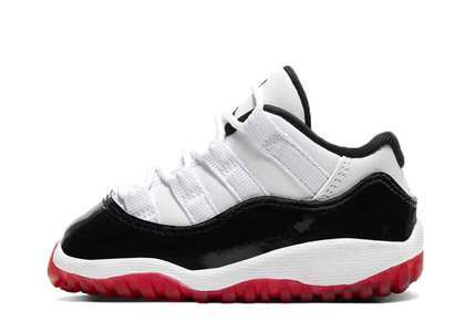Nike Air Jordan 11 Low White Bred Infantsの写真