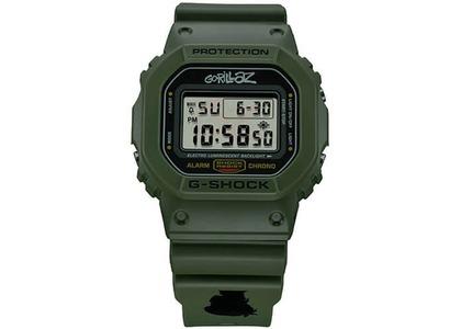 "Gorillaz x Casio G-Shock Limited Edition ""Murdoc"" DW-5600GRLZM-3 - 49mm in Rubberの写真"