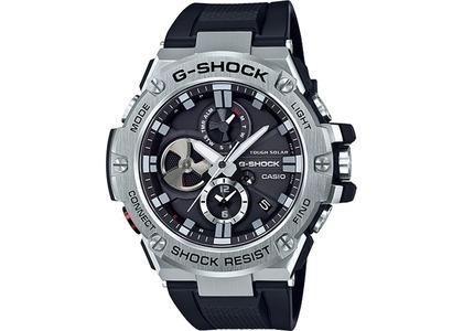 Casio G-Shock G Steel GSTB100-1A - 58mm in Stainless Steelの写真