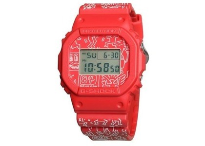 Keith Haring x Casio G-Shock DW5600KEITH - 40mm in Resinの写真