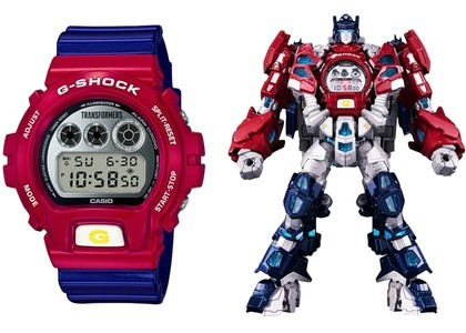 Transformers x Casio G-Shock Limited Edition DW6900TF-SET - 54mm in Resinの写真