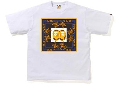 BAPE Double Ape Head Relaxed T-Shirt White (SS21)の写真