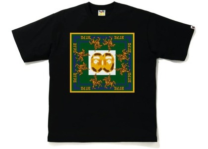 BAPE Double Ape Head Relaxed T-Shirt Black (SS21)の写真
