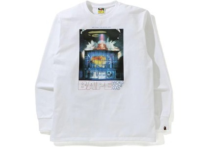 BAPE Invasion L/S Tee White (SS21)の写真